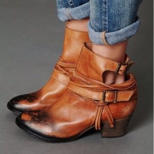 Free People   Outpost Ombre Ankle Booties